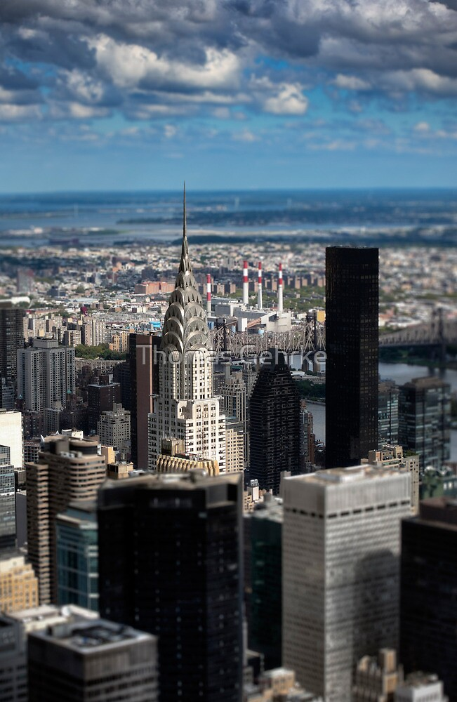 Chrysler Building - New York In Miniature by Thomas Gehrke