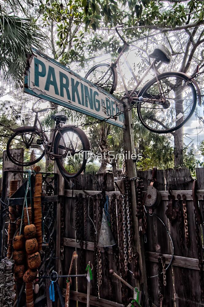 Bike Parking ? by ArtThatSmiles
