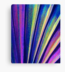 Fantasy Palm Leaf Abstract 4 Canvas Print