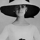 Yves Saint Laurent. Hat & Dress. by Ian A. Hawkins