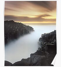 """""""The Hour Stands Still"""" ∞ Fingal Head, NSW - Australia Poster"""