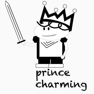 Prince Charming Cartoon by jorginaanderson
