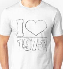 Vintage I love 1975 T-Shirt Unisex T-Shirt
