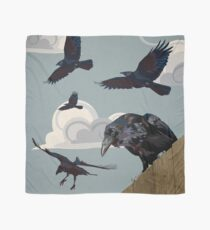 Crow invasion Scarf