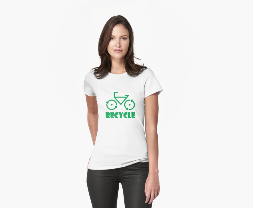 Recycle Bicycle by eggnog