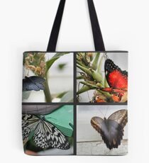 Collage of Butterflies Tote Bag
