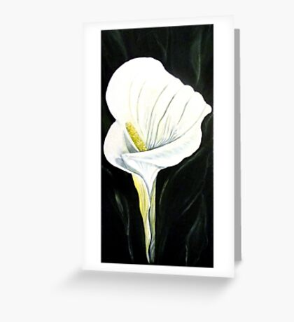 Lily - Flower Greeting Card