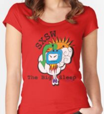 SXSW TEE SHIRT ENTRY Women's Fitted Scoop T-Shirt