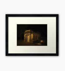 Building on DC Mall Framed Print