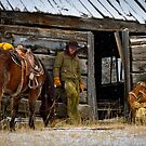 Cowboys on Break by Inge Johnsson