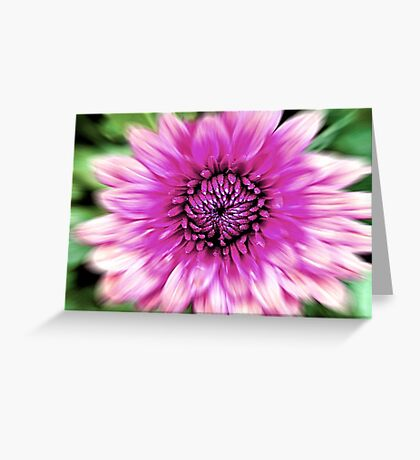Flower in Motion © Greeting Card