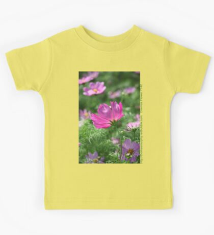 Cosmos Flower 7142 T shirt Kids Clothes