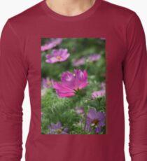 Cosmos Flower 7142 T shirt Long Sleeve T-Shirt