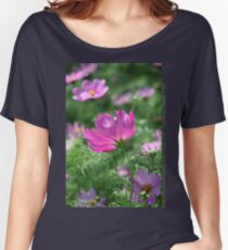 Cosmos Flower 7142 T shirt Women's Relaxed Fit T-Shirt