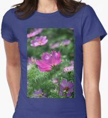 Cosmos Flower 7142 T shirt Women's Fitted T-Shirt