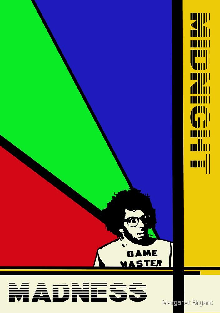 Midnight Madness minimalist movie poster by Margaret Bryant