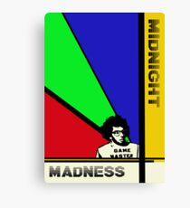 Midnight Madness minimalist movie poster Leinwanddruck