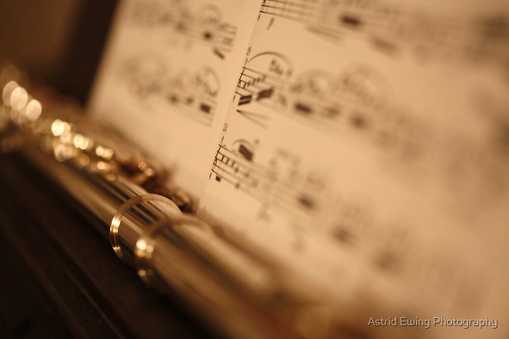 Flute Bokeh by Astrid Ewing Photography