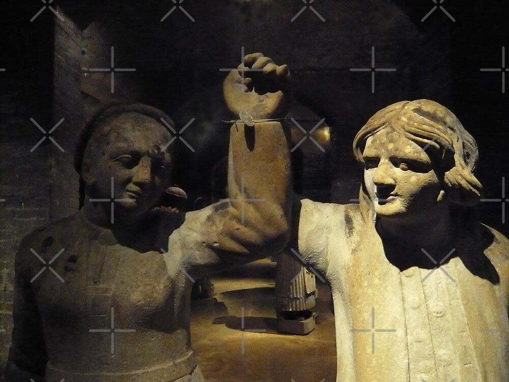 Couple in Stone by Hekla Hekla