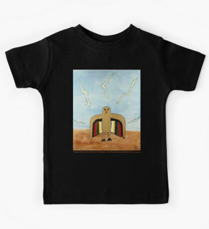 Dancing Robot Bird T Shirt Kids Clothes