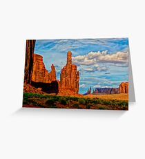 Monument Valley Politics  Greeting Card