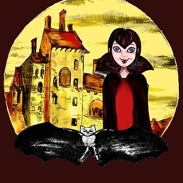 Transylvania Mavis night by virpicon