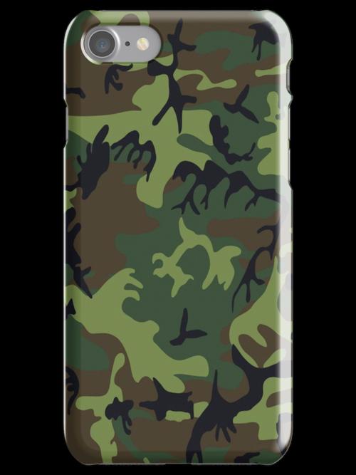 U.S. Woodland Camo Pattern by A1RB