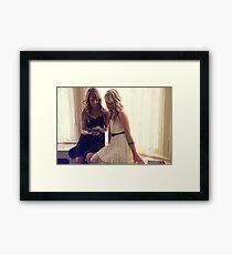 Brookside Mansion Framed Print