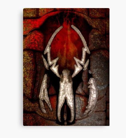 Ravaged by Fire Canvas Print