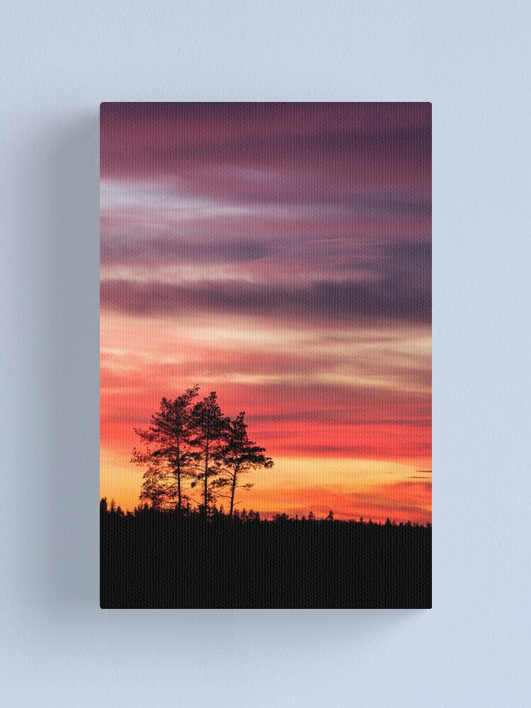 Alternate view of  Watching the sunset Canvas Print