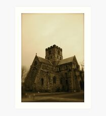 Carlisle Cathedral (The West Side) Art Print