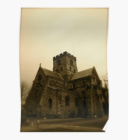 Carlisle Cathedral (The West Side) Poster