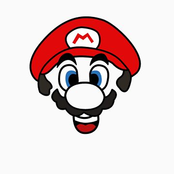 Mario face by Tees4Bush