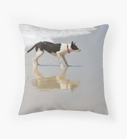 READY...STEADY... Throw Pillow