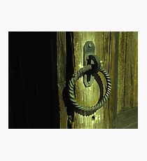 Door Pull - Ghost Town Photographic Print
