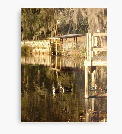 TURNED TO GOLD Metal Print