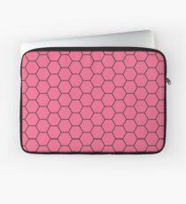 Honeycomb - Pink Laptop Sleeve