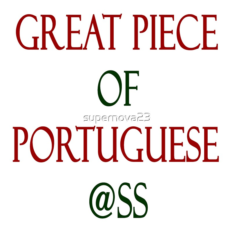 Ass In Portuguese