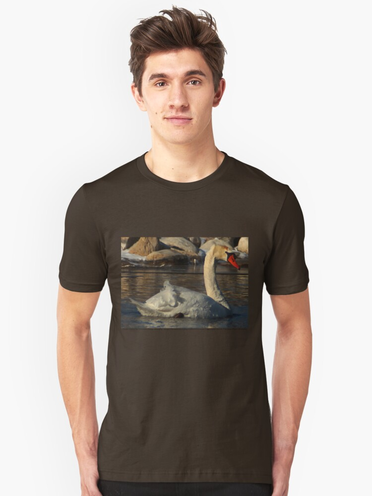 Mute Swan Unisex T-Shirt Front