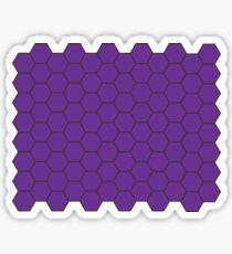 Honeycomb - Purple Sticker