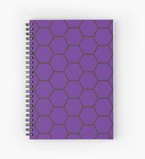 Honeycomb - Purple Spiral Notebook