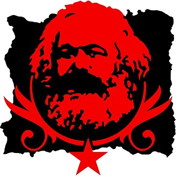 Socialist Karl Marx Red Star by NeoFaction