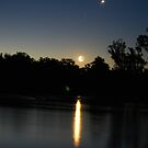 An End To A Hot Day On The Murray River by MissyD