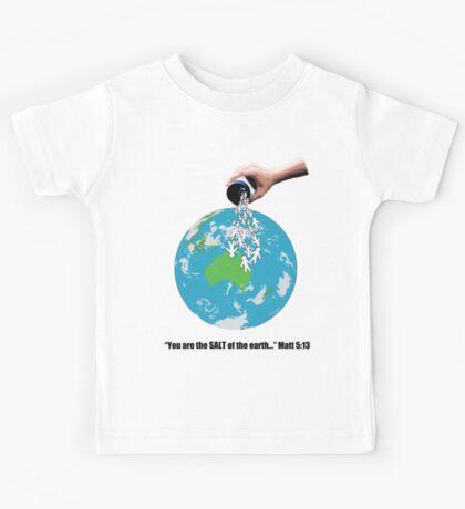 SALT - Black Text Kids Clothes