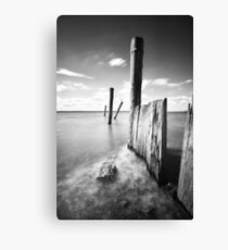 Docking Station - Corinella Canvas Print