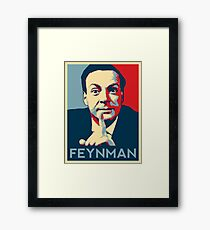 Richard P. Feynman, Theoretical Physicist Framed Print