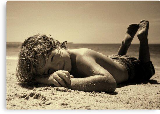 Sunbaker ~ala max dupain by Tam  Locke