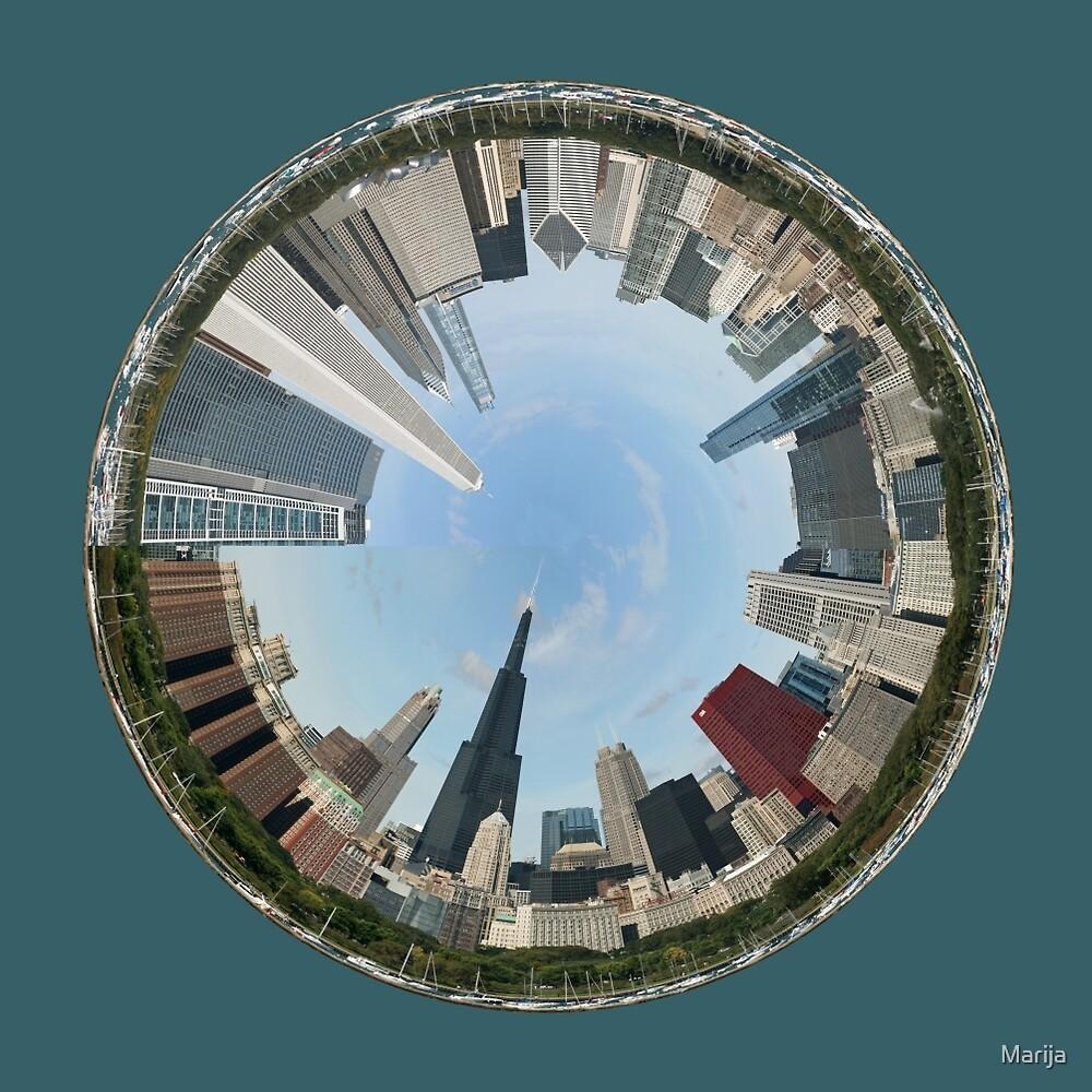 Chicago...A World of Fun by Marija