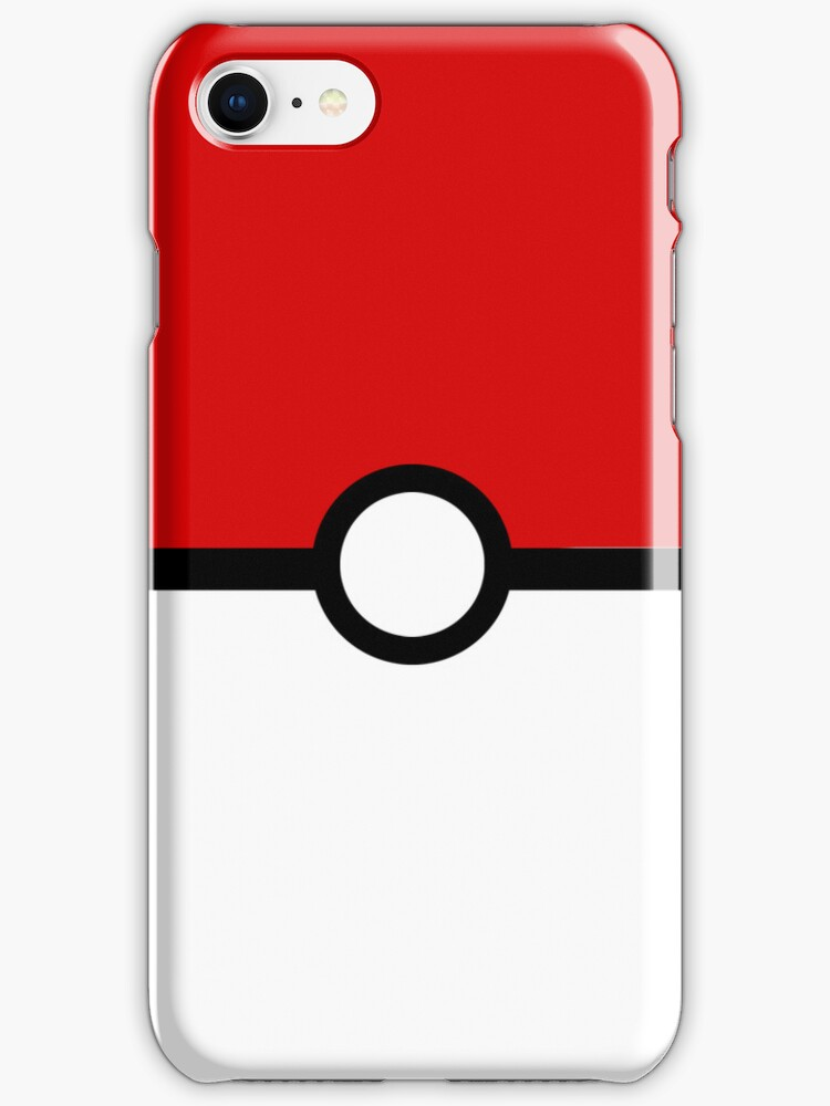 Poke Ball iPhone cover by KMeister