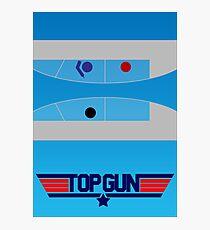 Top Gun - Minimal Poster Photographic Print